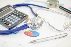 Salud financiera foto de archivo libre de regalías