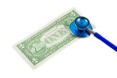 Salud financiera Imagen de archivo libre de regalías