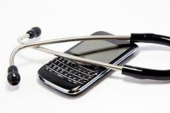 Salud móvil Fotografía de archivo libre de regalías