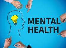 Salud mental Imagenes de archivo