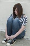 Salud mental adolescente Fotos de archivo libres de regalías