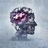 Salud mental de la neurosis Foto de archivo libre de regalías