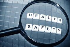 Salud y seguridad Fotografía de archivo libre de regalías