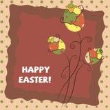 Saludo caliente de Pascua Foto de archivo libre de regalías