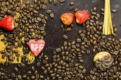 Saludo de BFF Fotografía de archivo libre de regalías