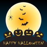 Saludo de Halloween Foto de archivo libre de regalías