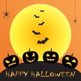 Saludo de Halloween Fotos de archivo libres de regalías