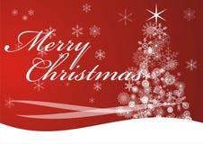 Saludo de la Navidad Fotos de archivo