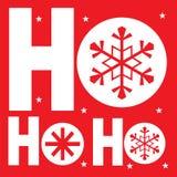 Saludo de la Navidad Imágenes de archivo libres de regalías