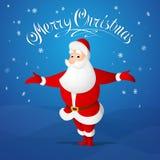 Saludo de Papá Noel Imagenes de archivo