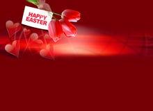 Saludo de Pascua fotos de archivo