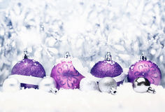Saludo decorativo de la Navidad Fotos de archivo libres de regalías
