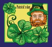 Saludo del día de St Patrick Imagenes de archivo