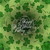 Saludo del día del ` s de St Patrick libre illustration