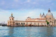 Saludo del della de Santa María de la basílica, Venecia, Italia Foto de archivo libre de regalías