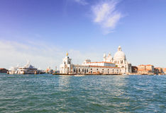 Saludo del della de Santa María de la basílica, Venecia, Italia Imagenes de archivo