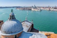 Saludo del della de Santa María en Venecia Imagenes de archivo