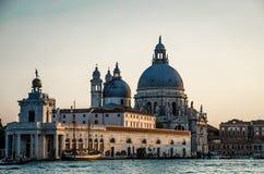 Saludo del della de Santa María en Venecia Fotos de archivo libres de regalías