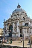 Saludo del della de Santa María en Venecia, Italia Fotografía de archivo libre de regalías