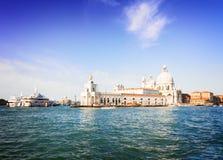 Saludo del della de Santa María de la basílica, Venecia, Italia Imagen de archivo libre de regalías