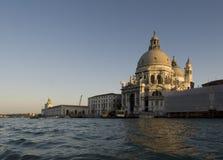 Saludo del della de Santa María (Venecia) Foto de archivo