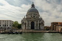 Saludo del della de Santa Mar?a de los di de la bas?lica imagen de archivo libre de regalías