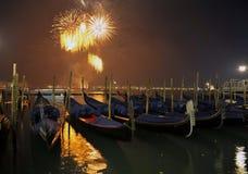 Saludo en Venecia Imagen de archivo