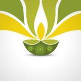 Saludo feliz del diwali