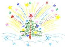 Saludo festivo ilustración del vector
