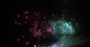 Saludo festivo en el cielo metrajes