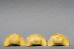 Saludo italiano de las pastas Foto de archivo libre de regalías