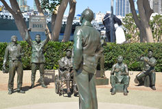 Saludo nacional a Bob Hope Fotos de archivo libres de regalías