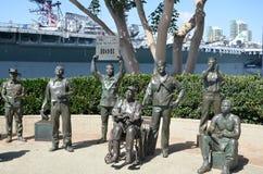Saludo nacional a Bob Hope Imagen de archivo libre de regalías