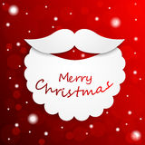 Saludos de la Feliz Navidad Imágenes de archivo libres de regalías