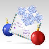 Saludos de la Navidad. Imagenes de archivo