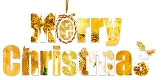 Saludos de la Navidad Fotografía de archivo libre de regalías