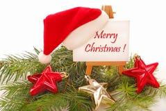 Saludos de la Navidad Fotos de archivo