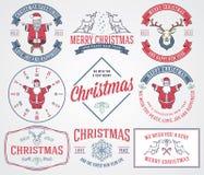 Saludos 2 de la Navidad Foto de archivo libre de regalías
