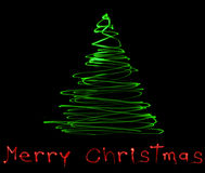Saludos de la Navidad Imagen de archivo libre de regalías