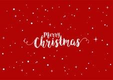 Saludos de la Navidad Imagenes de archivo
