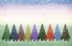 Saludos de la Navidad, fondo festivo para las imágenes stock de ilustración