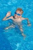 Saludos de la piscina Imagenes de archivo