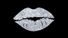 Saludos de las part?culas del icono del elemento del centelleo del elemento del beso, invitaci?n, fondo de la celebraci?n libre illustration