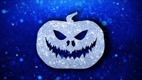 Saludos de las part?culas del icono del elemento del centelleo del elemento del feliz Halloween, invitaci?n, fondo stock de ilustración