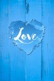 Saludos del amor Imagen de archivo libre de regalías