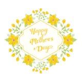 Saludos del día de madres Fotos de archivo
