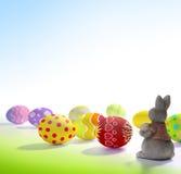 Saludos hermosos de Pascua Imagen de archivo libre de regalías