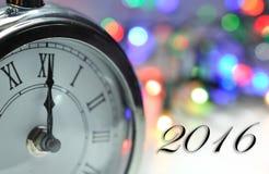 Saludos para 2016 Fotos de archivo libres de regalías