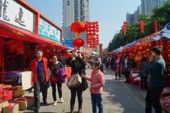 Saluez le marché de festival de printemps Photos libres de droits