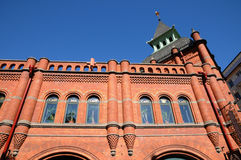 Saluhall, a commercial center in Stockholm Stock Photography